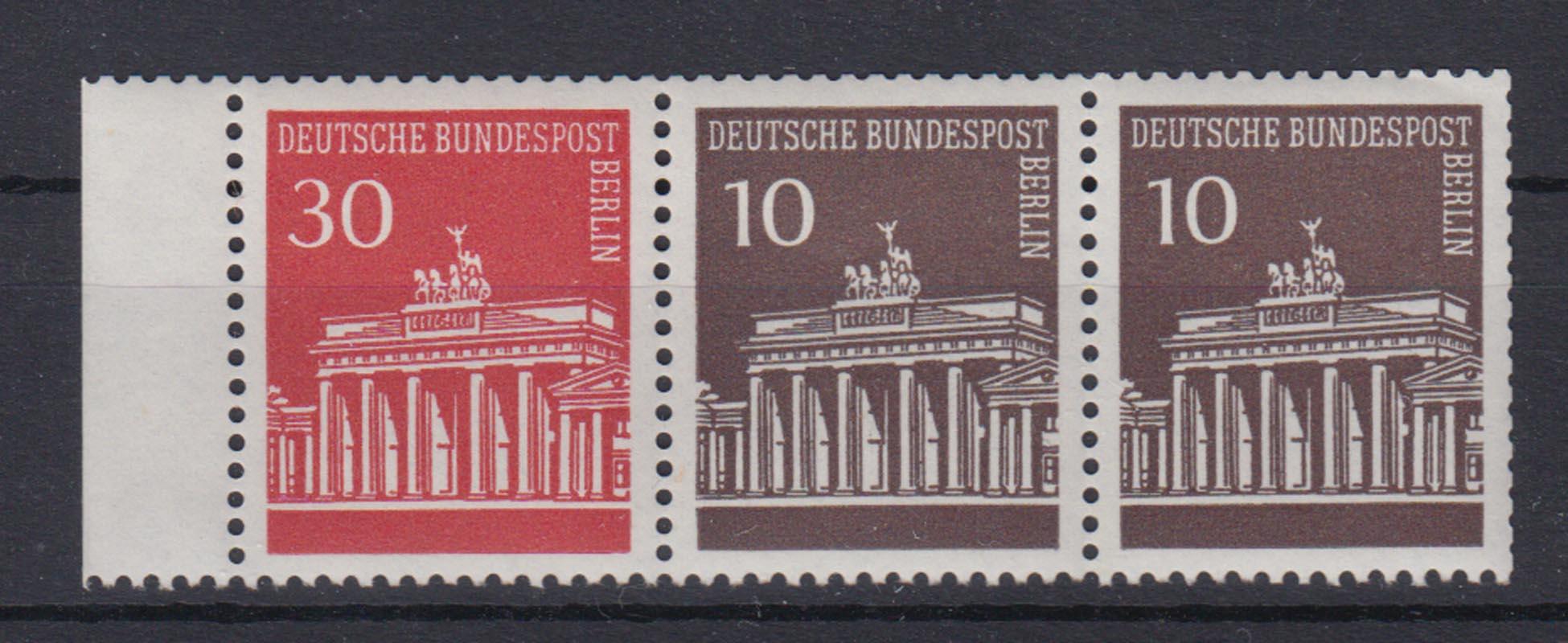 Motive Berlin Postfrisch 1949 Minr 42-60 Berliner Bauten